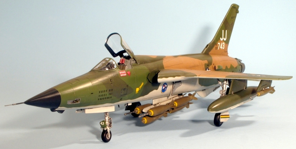 revell 1 48 republic f 105d thunderchief jon s models