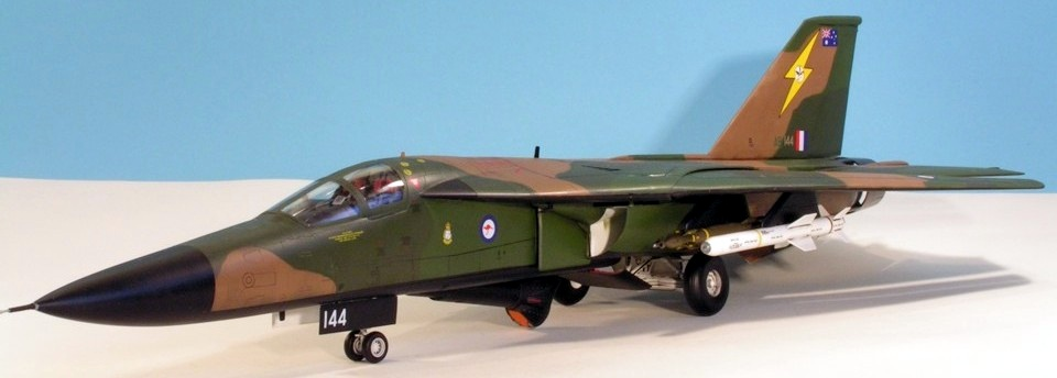 Academy 1/48 General Dynamics F-111C | Jon's Models