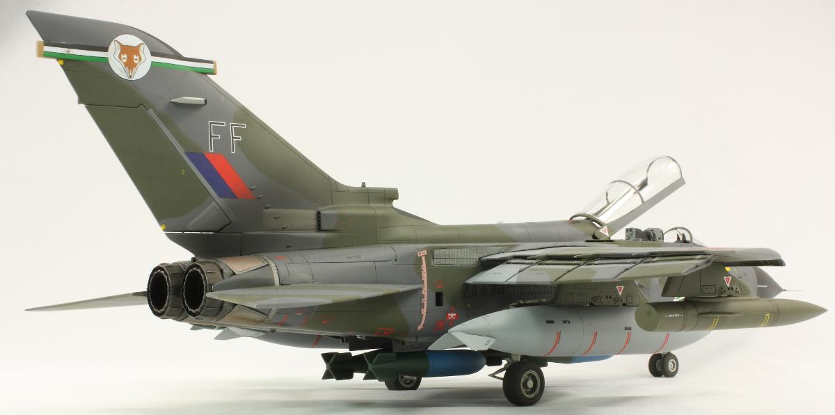 Airfix Panavia Tornado F   Build