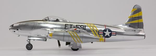 Monogram 1/48 Lockheed F-80C Shooting Star | Jon's Models